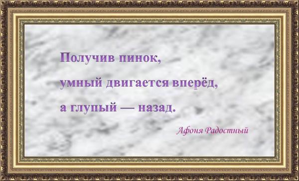 Мем: Из афоризмов Афони Радостного, Афоня Радостный