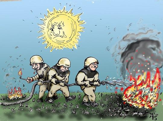 Карикатура: Предатель, backdanov
