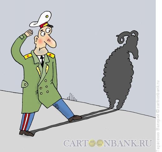 Карикатура: Тугодум, Тарасенко Валерий