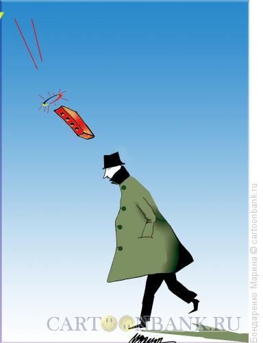 Карикатура: Святой Кирпич, Человек, Бондаренко Марина