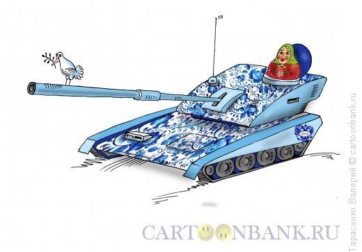 Карикатура: Народные промыслы, Тарасенко Валерий