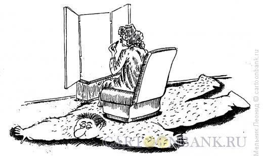 Карикатура: Шкура, Мельник Леонид