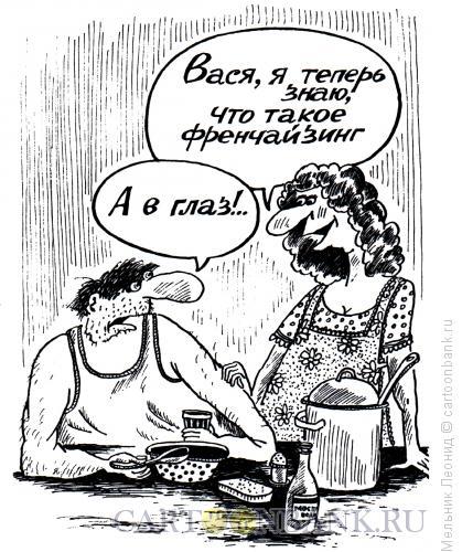 Карикатура: Франчайзинг, Мельник Леонид