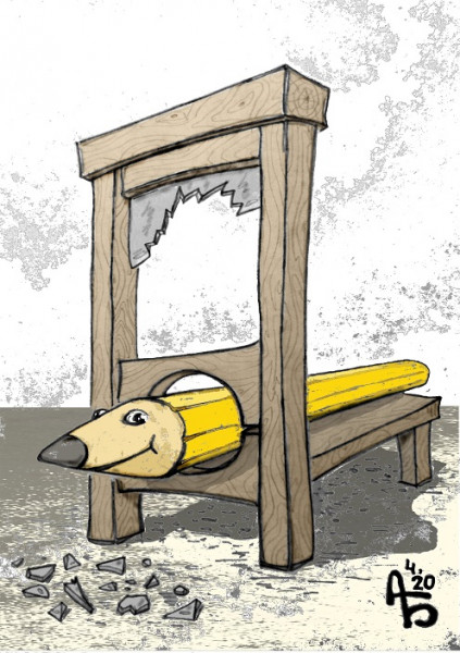 Карикатура: Проверка на твёрдость, backdanov