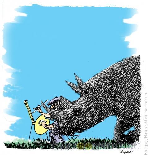 Карикатура: Цензура, Богорад Виктор