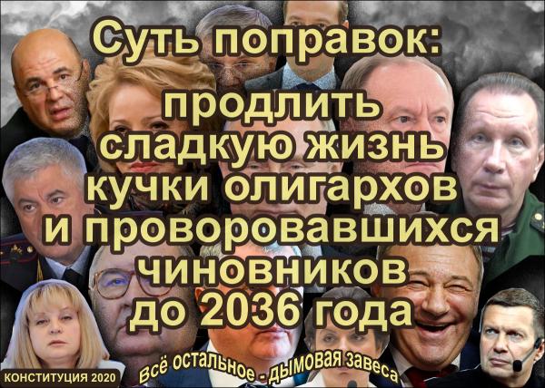 Мем: Информирование о поправках, Антипуть