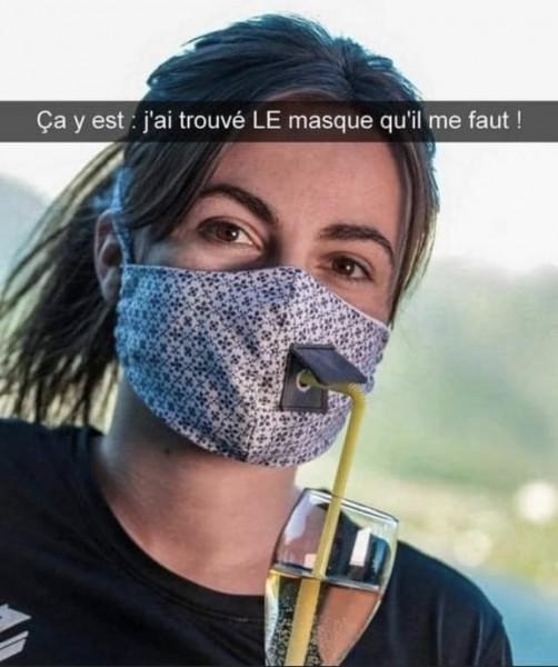Мем: Наконец-то я нашла маску которая мне необходима., Дед Макар