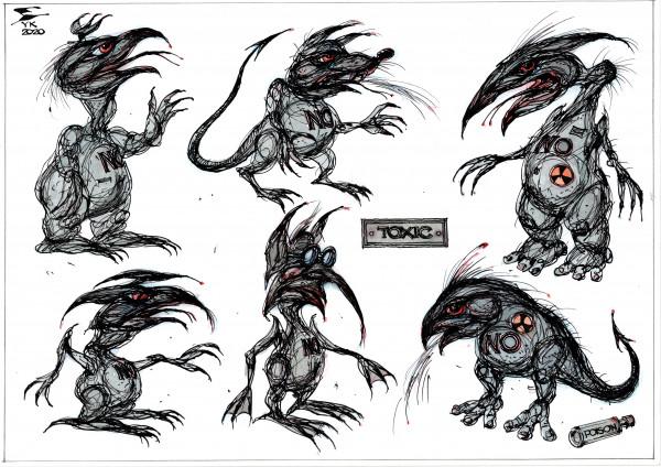 Карикатура: Токсичные монстры ., Юрий Косарев