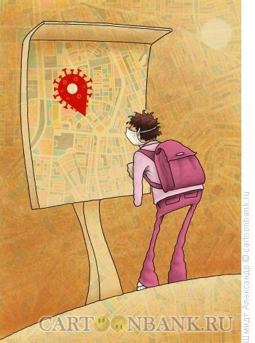 Карикатура: Вирусомания - 10, Шмидт Александр