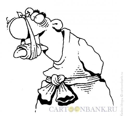 Карикатура: Смирительная повязка, Кийко Игорь