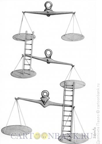 Карикатура: Весы, Далпонте Паоло