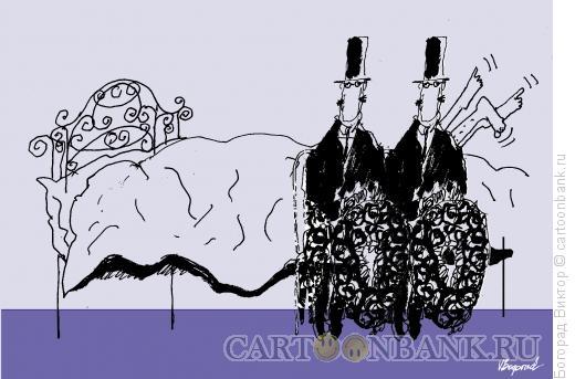 Карикатура: Первый шаг, Богорад Виктор