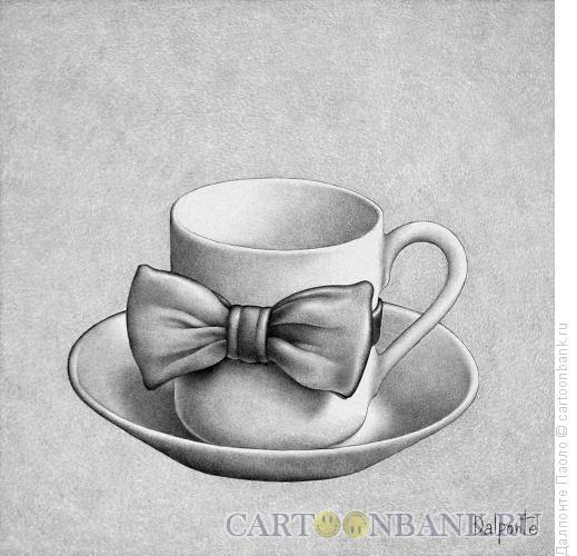 Карикатура: вечерний кофе, Далпонте Паоло