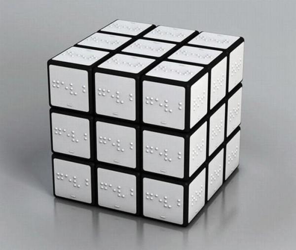 Мем: Кубик Рубика для слепых