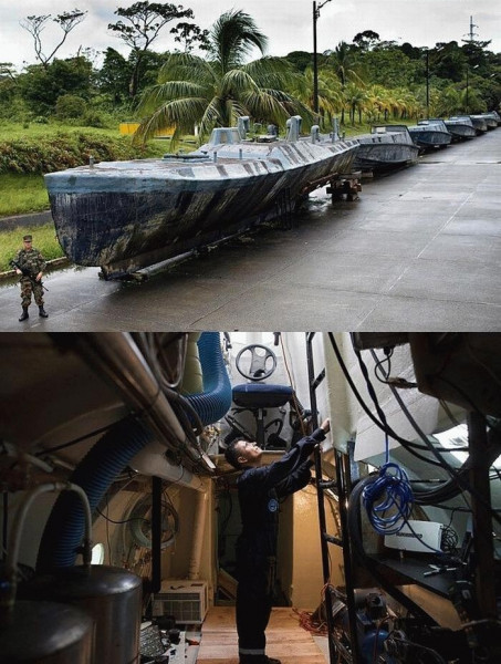 Мем: Подводная эскадра колумбийской наркомафии
