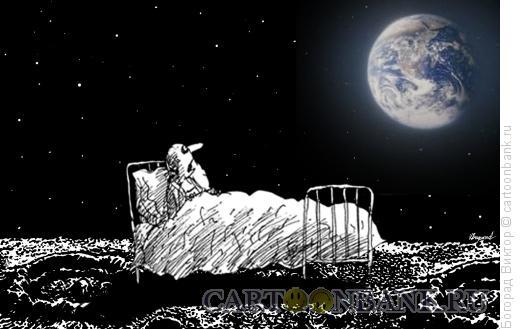 Карикатура: Внезапное пробуждение, Богорад Виктор