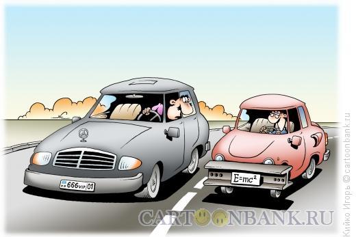Карикатура: Понтовые номера, Кийко Игорь