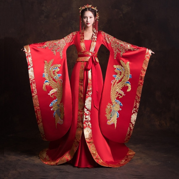 Мем: Свадебный Hanfu (Традиционное китайское платье), Гексоген