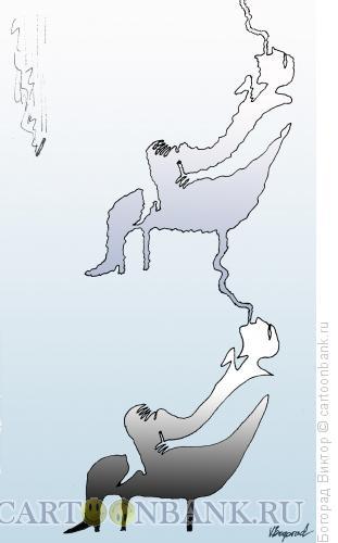 Карикатура: Сигаретный дым, Богорад Виктор