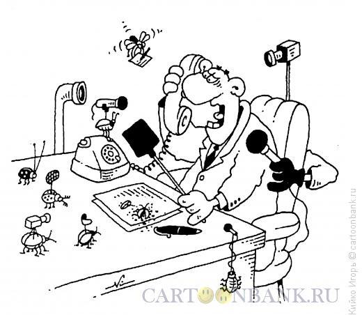 Карикатура: Жучки, Кийко Игорь