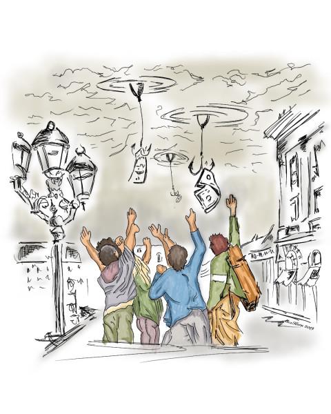 Карикатура: Рыбалка, AlexKorn4870