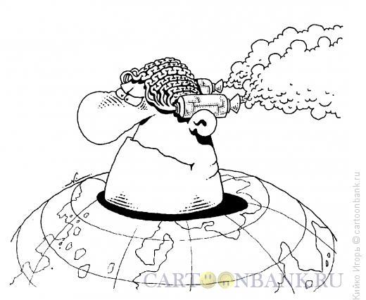 Карикатура: Мозги человечества, Кийко Игорь