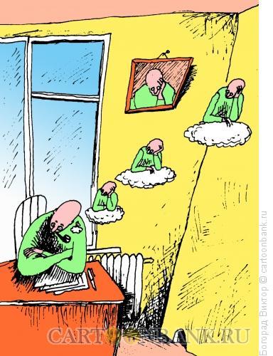 Карикатура: Рефлексия, Богорад Виктор