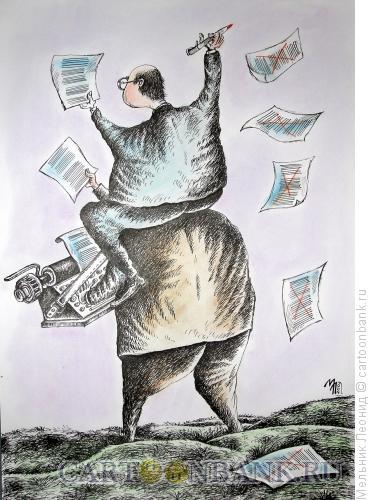 Карикатура: Все направильно, Мельник Леонид