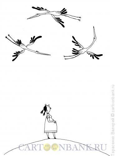 Карикатура: Девятый месяц, Тарасенко Валерий