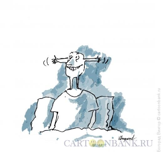 Карикатура: Бодрость, Богорад Виктор