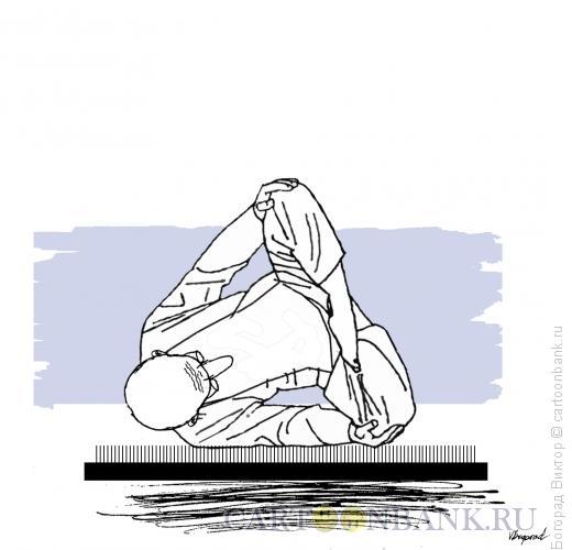 Карикатура: Сон йога, Богорад Виктор
