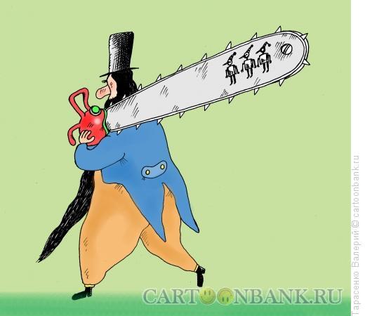 Карикатура: Марионеточный правитель, Тарасенко Валерий