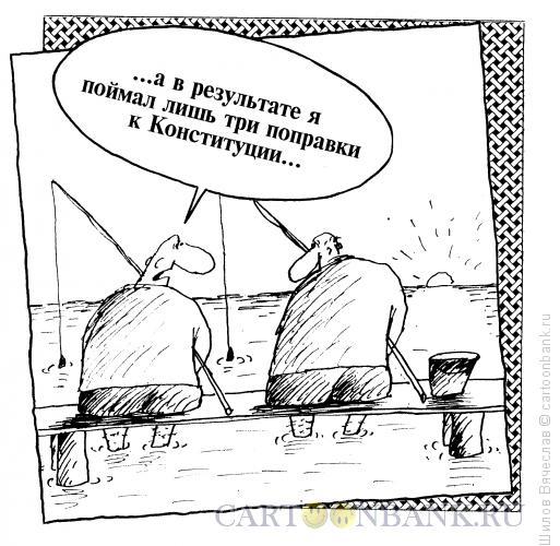 Карикатура: Три поправки, Шилов Вячеслав
