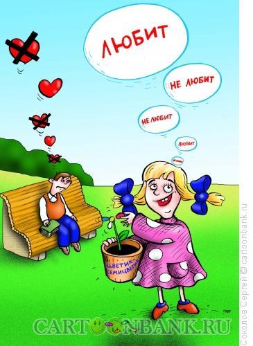 Карикатура: любовь-морковь, Соколов Сергей