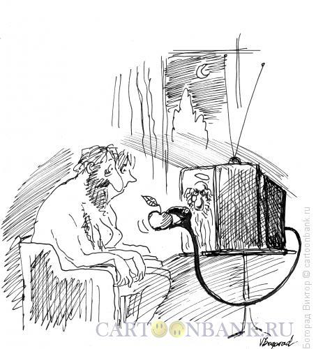 Карикатура: Искушение, Богорад Виктор