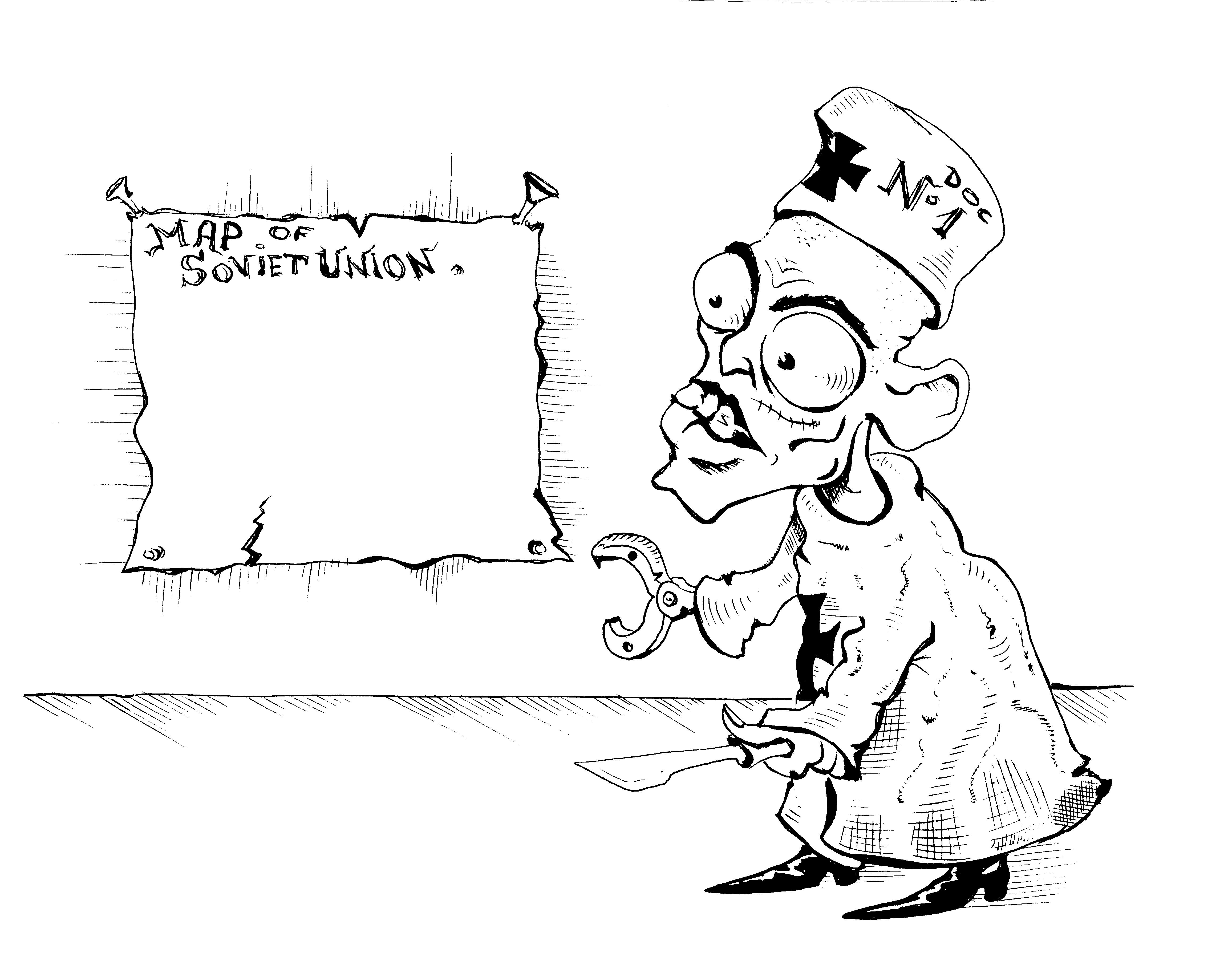 Карикатура: ДОКТОР ЗЛО., Константин Мухоморов