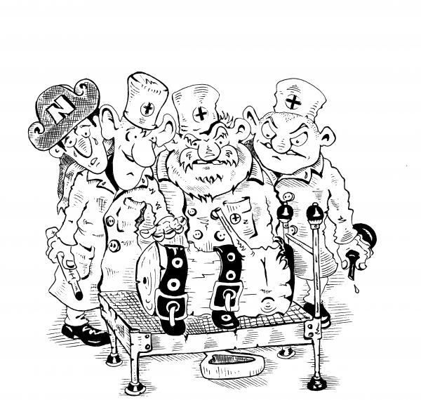 Карикатура: ГОВОРЯЩЕЕ ПОЛЕНО., Константин Мухоморов