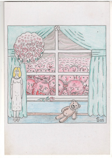 Карикатура: Миллион алых роЖ, Минаев Вяч