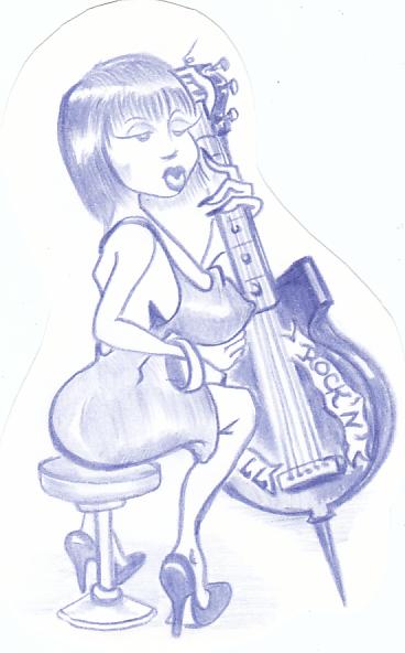 Карикатура: ПЕРВАЯ СКРИПКА., Константин Мухоморов