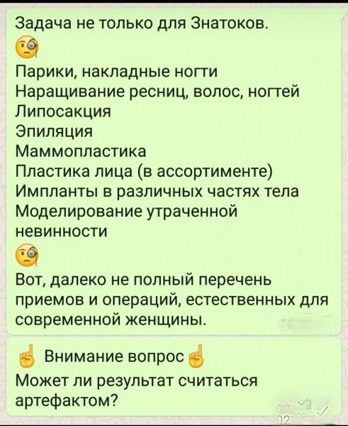 Мем: Артефакт?, Серж Скоров