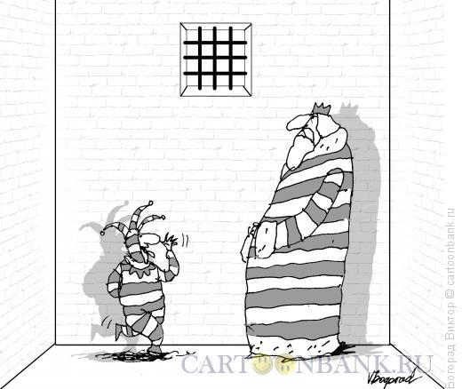 Карикатура: Сокамерники, Богорад Виктор