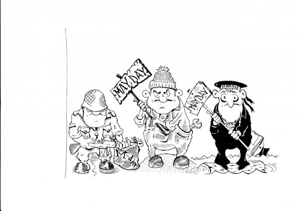 Карикатура: У КАЖДОГО СВОЙ., Константин Мухоморов