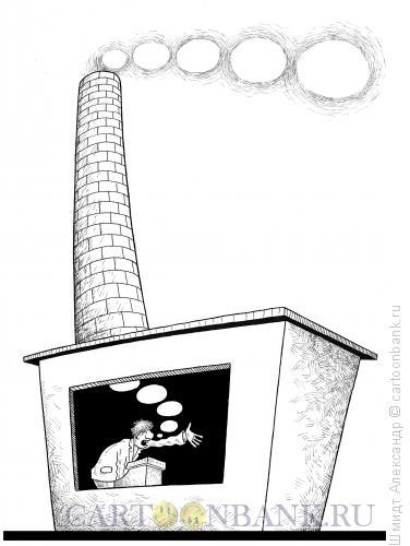 Карикатура: Легкий текст (ч/б), Шмидт Александр