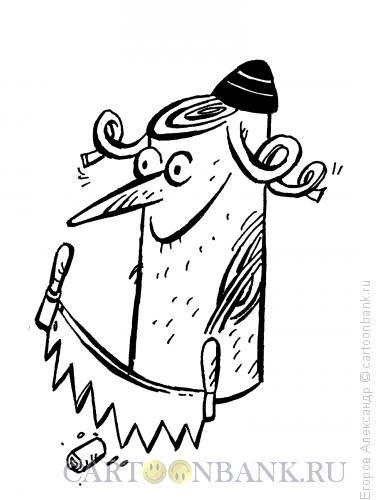 Карикатура: Обрезание, Егоров Александр