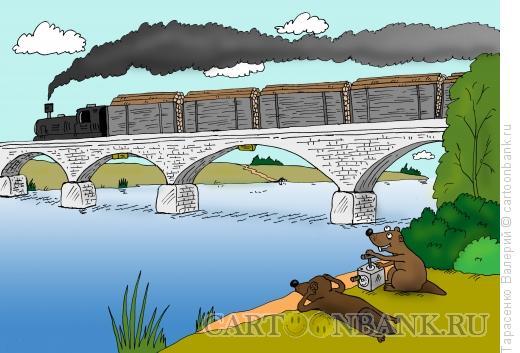 Карикатура: Плотина, Тарасенко Валерий