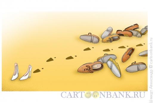 Карикатура: Раскидала, Шмидт Александр