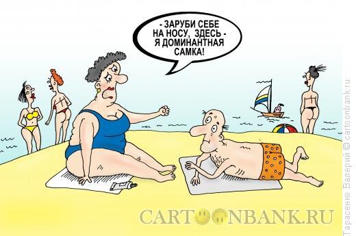 Карикатура: Доминанта, Тарасенко Валерий