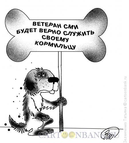 Карикатура: ВЕТЕРАН СМИ, Зеленченко Татьяна