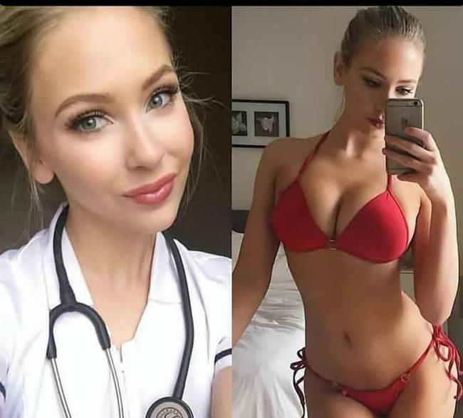 Мем: Моя новая медсестра...я уже чувствую что заболеваю., Leshi