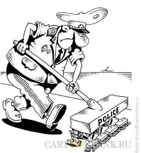 Карикатура: Заметание следов, Кийко Игорь